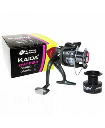 Катушка Kaida Differ DF2000, 3+1 подшипник