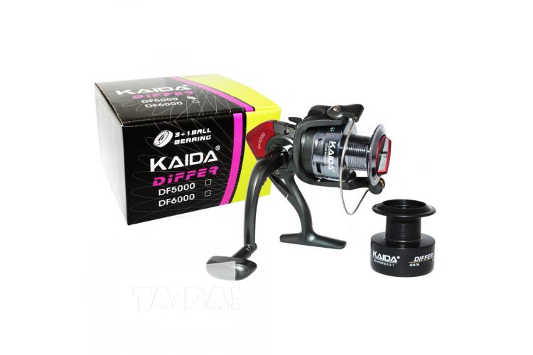 Катушка Kaida Differ DF 1000, 3+1 подшипник